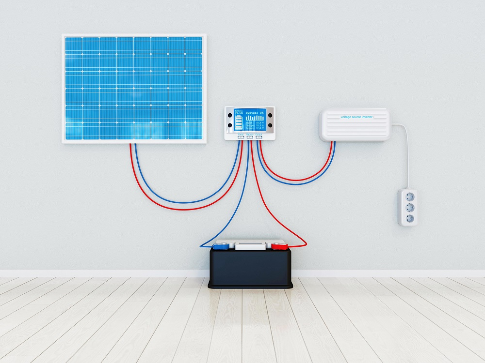 Solar panel and solar Battery Storage system